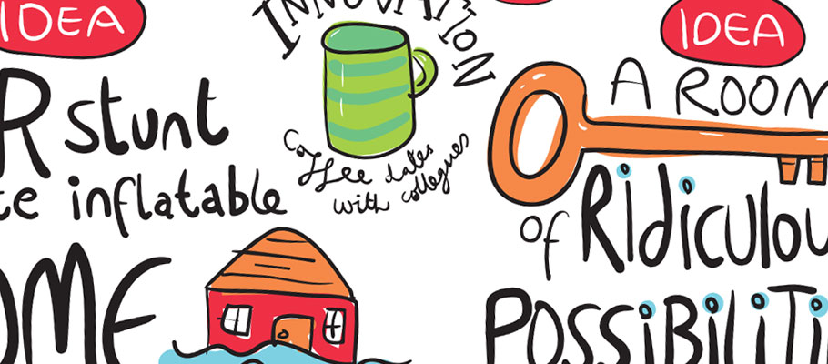 GRAPHIC RECORDING FOR TK MAXX