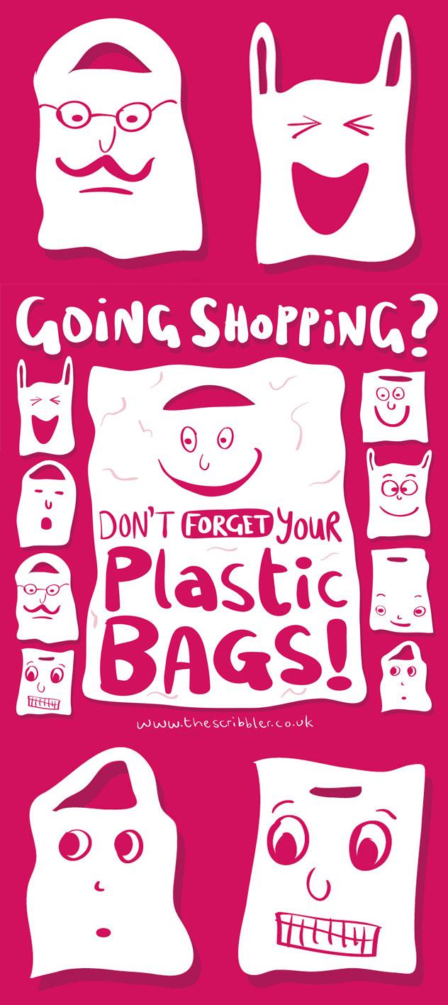 Poster design jobs uk - Plastic Bag Poster
