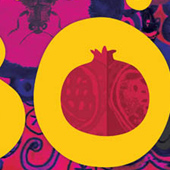 Pomegranate Boo! Logo